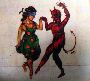 I have danced with the devil, and lived.